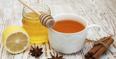 infusion de canela miel y limon