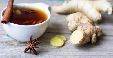 infusion de jengibre canela y miel